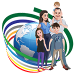 The 5 World Explorers - footer logo